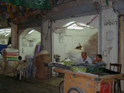 Shops in old fur suq