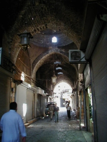Suq in front of Bahramiyya