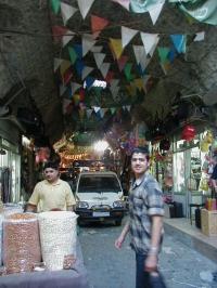 Suq street in Aleppo